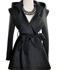 $11.67 cool hooded coat ^^ #fashion #coat