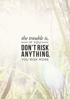 Risk; Striking Truths.