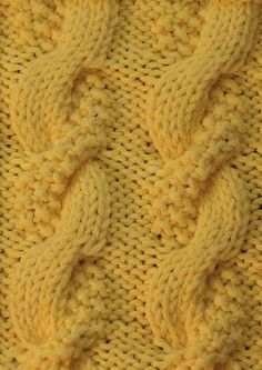 Double texture cable - pattern, anyone?