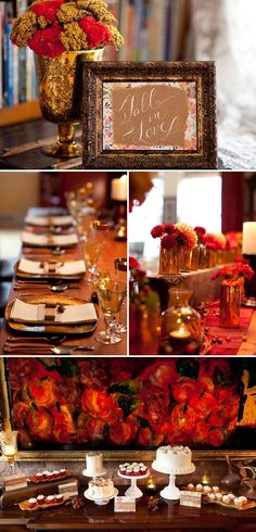 Fall Inspired Photo Shoot by DM Events | Style Me Pretty