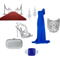 red carpet, created by amanda-lewis-perkins on Polyvore