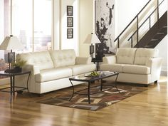 Durablend - Ivory -by Ashley Furniture-