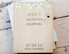 Wedding Journal Notebook Planner
