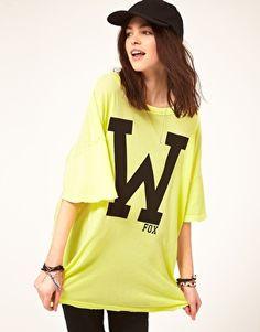 Wildfox W shirt.