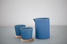 Yumiko Iihoshi's beautiful porcelain, Utage Tool series.