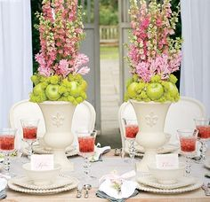 You can jazz up your centerpiece by adding fruits or vegetables to the arrangement. It gives it a whimsical…