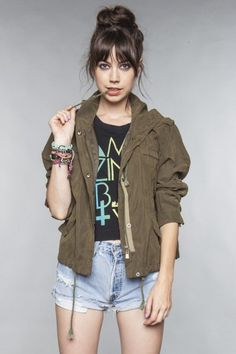 Really want a military army green jacket..
