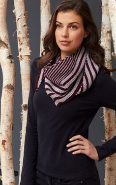 Garter Stitch Scarf AllFreeKnitting.com - Free Knitting Patterns, Knitting Tips, How-To Knit, Videos, Hints and More!