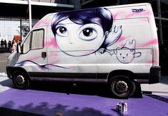 Artist: Jordane Jone, Emmaüs france, Paris Graffiti Characters, Street Art, Packaging, France, Paris, Anime, Graphic Design, Montmartre Paris, Paris France