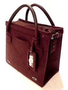 2818e770c1 Borse da shopping - Sabry bag in feltro e similpelle - un prodotto unico di…