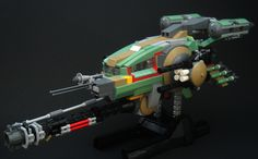Benoblian Gunship | by piotmetans