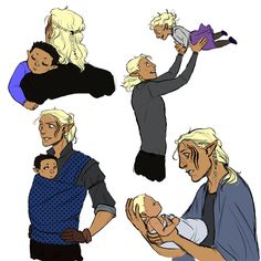 Decided it was time for some Zevran Being the Hot Dad™
