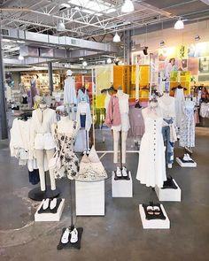 Dress shop dreams from @UOFlorida. : @avazz. #UODisplay #UrbanOutfitters #uodisplay #MarketDistrict #Boston