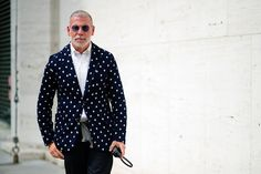 Nick Wooster @ New York Fashion Week September 2013