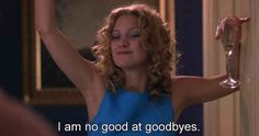 """Closure isn't really your thing. 