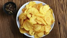 Chips de batata                                                                                                                                                                                 Mais
