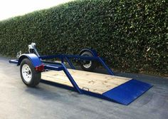 LA VERNE, CA – MARCH A new model trailer has been added to the Airtow Trailers product line. Designed with a smaller footprint and a lb. capacity, this trailer is ideal for carrying smaller scissor lifts or lighter equipment. Tilt Trailer, Trailer Deck, Trailer Plans, Trailer Build, Teardrop Trailer, Utv Trailers, Custom Trailers, Hand Crank Winch, Trailer Wiring Diagram