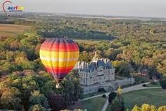Oh I would love a balloon ride over a castle