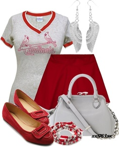 """""""Go Cards!!"""" by xx8763xx on Polyvore"""