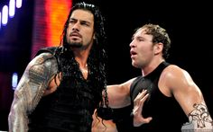 Dean ambrose and Roman reigns discuss their possible survivor series match for the wwe championship after their 8 man tag team dark match on raw.