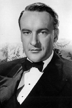 George Sanders. I've seen some of his movies and read about him. I like him profoundly. He's my sort of chap.