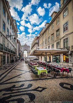 Rua Augusta  #Lisbon downtown - Portugal - http://www.cityisyours.com/explore