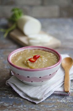crema di daikon e topinambur by Elisakitty's Kitchen, via Flickr