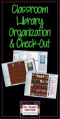 Organizing Your Classroom Library. Mac compatible super easy solution for managing you classroom library. $35 one-time fee