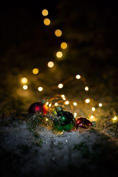 Christmas-Lights by Fabian-Photography / Christmas Time Is Here, Christmas Scenes, Christmas Mood, Noel Christmas, Merry Christmas And Happy New Year, Christmas Pictures, Christmas Lights Wallpaper, Christmas Phone Wallpaper, Christmas Wallpaper