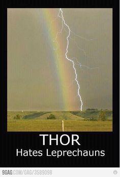 Thor hates leprechauns @Nadja Swift @Kasey Mitchell