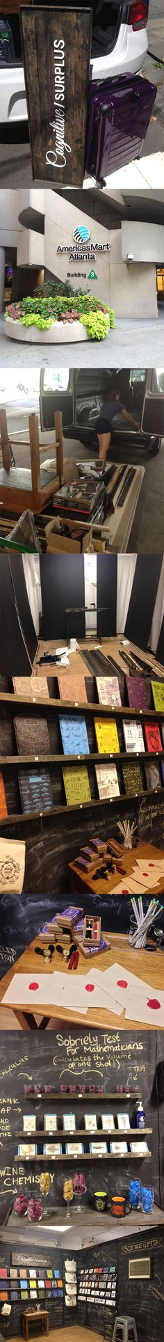 Cognitive Surplus goes to #AmericasMart in #Atlanta! Come check us out in Building 3, Floor 5, OnTrend Gifts Booth #1110!