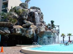 Days Inn pool at Panama City Beach, FL! <3