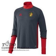 902a459d0e2ae camiseta entrenamiento gris Copa de Europa Belgica 2016 €39.99