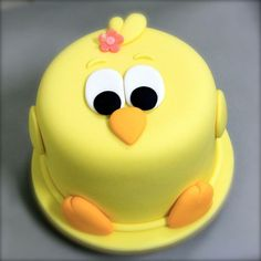 Easter Bunny Cake, Easter Cupcakes, Easter Treats, Cake Decorating Techniques, Cake Decorating Tips, Bolo Picnic, Fondant Cakes, Cupcake Cakes, Chicken Cake