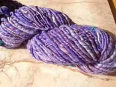 Orchid Road Handspun Navajo Ply Yarn by kaleidoscopekitty on Etsy