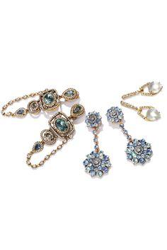 Flash Mode: Shop bejeweled creations by Oscar de la Renta & more.