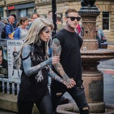 @lusylogan & @jord_liddell #love #amore Tattooed Couples Photography, Couple Photography, Couple Tattoos, Tattoos For Guys, Tatted Guys, Ryan Ashley, Badass Aesthetic, Dream Tattoos, Photo Reference