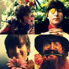 """""""If someone thinks that peace and love are just a cliche that must have been left behind in the 60s, that's a problem. Peace and love are eternal.""""  ~ Lennon"""