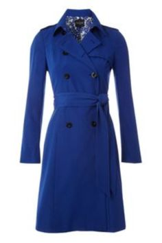 Blue trench coat from Hobbs. Soon I'll be dressing like the Duchess of Cambridge.