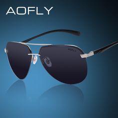 Polarized Sunglasses Men Original Brand HD Polaroid Lens Reflective