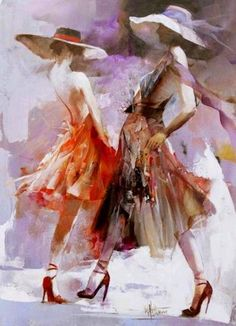 Willem Haenraets Beautiful soft Impressionism painting