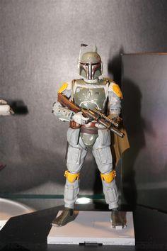 Bandai x Star Wars 1/12 BOBA FETT on display, Images, Info Release http://www.gunjap.net/site/?p=269536