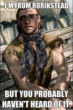 Hipster skyrim