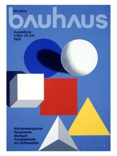 Bauhaus Ausstellung, 50 Jahre Impressão giclée na AllPosters.com.br