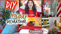 DIY ❆ Holiday Room Decorations | Tumblr Inspired