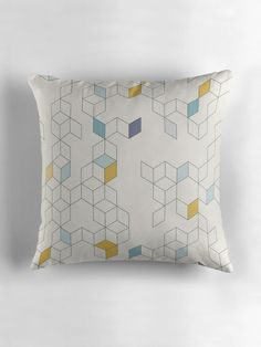 Keziah - Day x Scandinavian geometric pattern by Florent Bodart