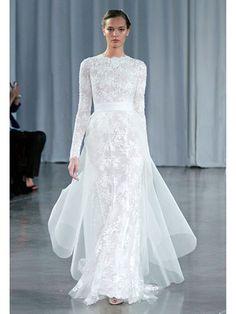 Marie Claire Wedding Guide 2013: The Gown, Monique Lhuillier