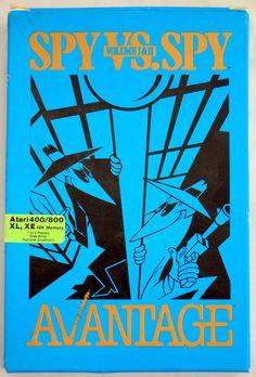 Spy Vs. Spy Volume 1 & 2 (Atari 400/800/XL/XE, 1986) @ebay @products