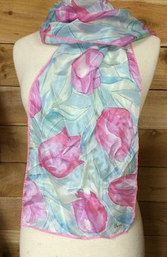 Hey, I found this really awesome Etsy listing at https://www.etsy.com/listing/248755886/vintage-vera-pink-blue-floral-scarf
