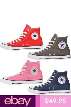 832ddabc0bab01 Women s Canvas Shoes Casual Sneakers Trainers Chuck Taylor Ox ALL STARs  Plimsoll
